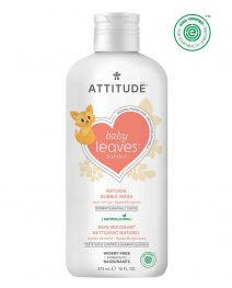 Attitude Baby Leaves Bubble Wash 473ml - Pear Nectar