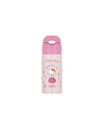 Thermos Hello Kitty Sanrio 0.4L Straw Bottle (FHL-400HKS-P)