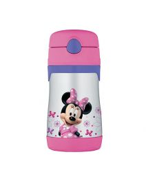 Thermos 290 ml FUNtainer Straw Bottle - Minnie Mouse
