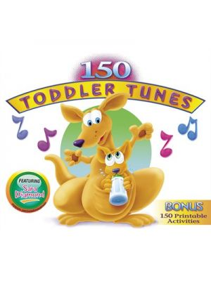 150 Toddler Tunes by Kidzup (3Cds)