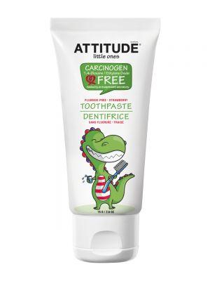 ATTITUDE Fluoride-Free Toothpaste 75gr - Strawberry