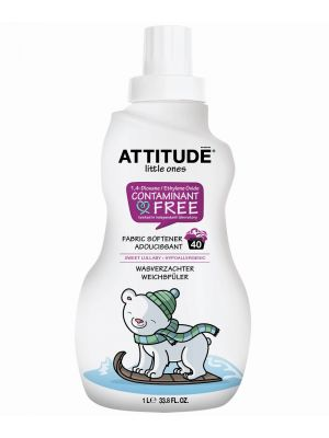 ATTITUDE Baby Safe Fabric Softener 1L - Sweet Lullaby