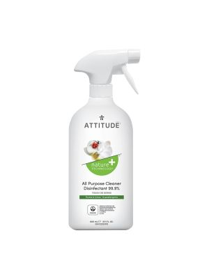 ATTITUDE Cleaner Disinfectant 99.9% 800ml - Thyme & Citrus