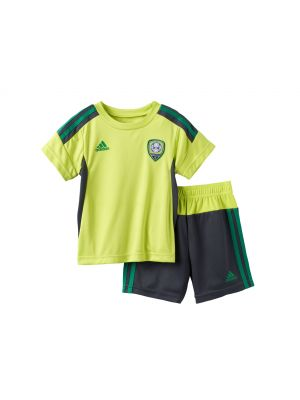 Adidas Striker Soccer Tee & Shorts Set - Solar Yellow