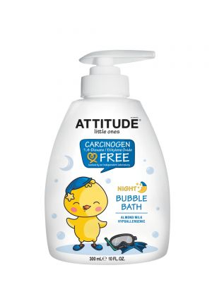 ATTITUDE Bubble Bath 300ml - Almond Milk