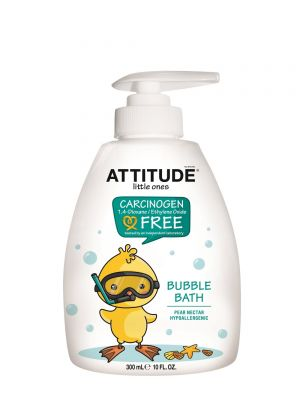 ATTITUDE Bubble Bath 300ml - Pear Nectar