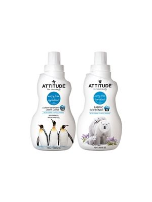 ATTITUDE Detergent & Fabric Softener (Wildflowers) - Bundle