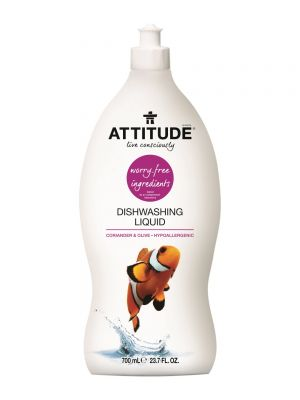 ATTITUDE Dishwashing Liquid 700ml - Coriander & Olive