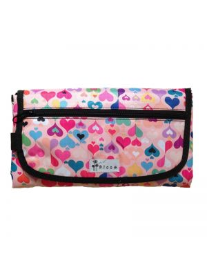 Bloom Diaper Changing Mat - Retrolicious Pink