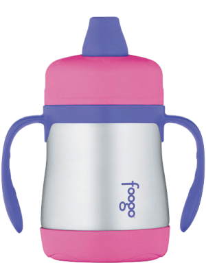 Thermos Foogo Soft Spout Sippy Cup - Pink | BS-500 PK