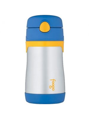 Thermos Foogo Straw Bottle 10oz - Blue | BS535 BL