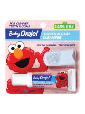 Baby Orajel® Tooth & Gum Cleanser with Finger Brush