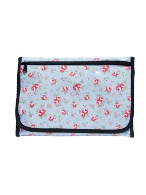 Bloom Diaper Changing Mat (Large) - Blue Rose