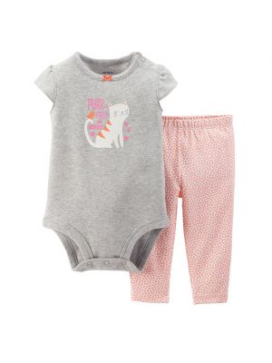 Baby Girl Carter's Glitter Bodysuit and Pants Set