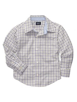 Carter's Plaid Woven Shirt - Multi