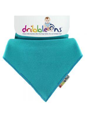 Dribble Ons Baby Bandana Bibs - Baby Aqua Blue