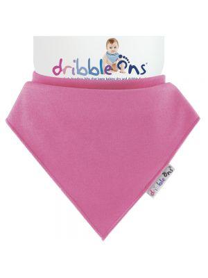 Dribble Ons Baby Bandana Bibs - Baby Fuschia