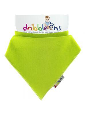 Dribble Ons Baby Bandana Bibs - Baby Lime Green