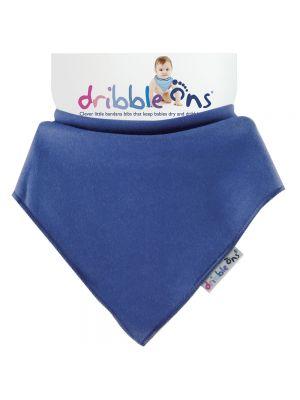 Dribble Ons Baby Bandana Bibs - Baby Navy Blue