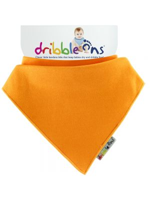 Dribble Ons Baby Bandana Bibs - Baby Orange