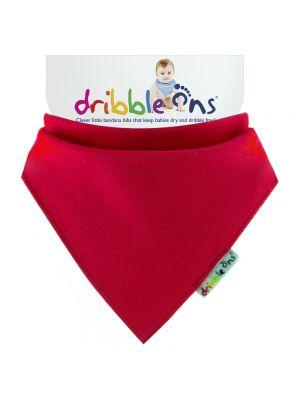 Dribble Ons Baby Bandana Bibs - Baby Red
