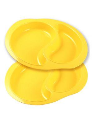 Corn Divided Plates - 2pk