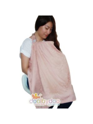 Bloom Nursing Cover - Dusty Pink Damask