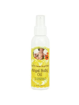 Earth Mama Angel Baby - Baby Oil 120ml