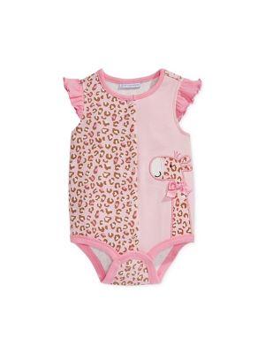 First Impressions Baby Girls' Giraffe French Creeper