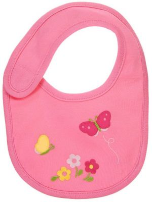 Butterfly Flower Bib