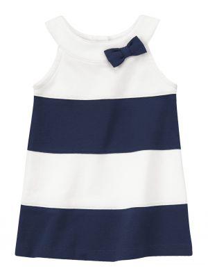 Gymboree Striped Bow Ponte Dress