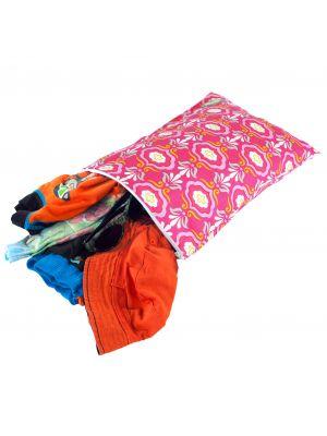 Itzy Ritzy Medium Sealed Wet Bag - Modern Damask