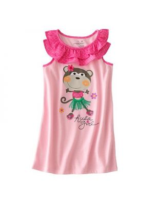Hula Monkey Nightgown