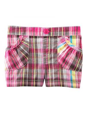 Jumping Beans Shorts - Multi Colour Plaid