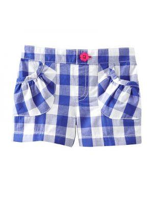 Jumping Beans Shorts - Blue Check