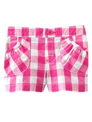 Jumping Beans Shorts - Pink Check