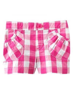 Jumping Beans Shorts - Pink Check