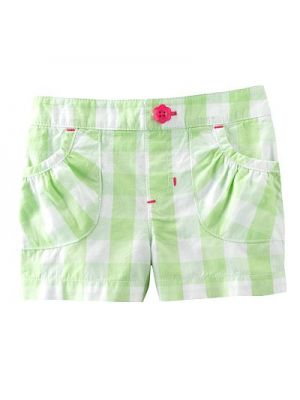 Jumping Beans Shorts - Green Check