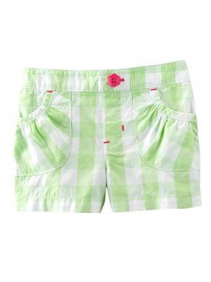 Jumping Beans Shorts - Green Check