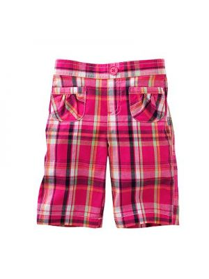 Jumping Beans Capris - Red Plaid