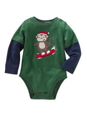 Green Monkey Bodysuit
