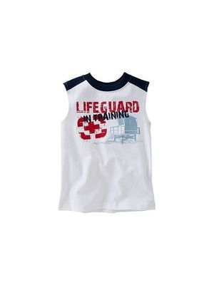 White Guard Muscle Tee