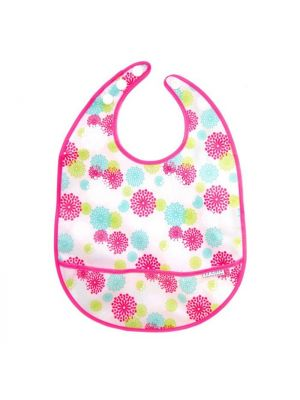 JJ Cole Large Bib - Pink Blush