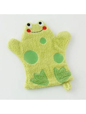 Wash Mitt - Frog