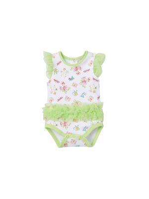 Baby Girl Kyle & Deena Garden Ruffle Creeper