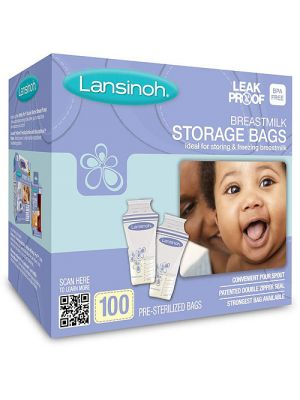 Lansinoh Breastmilk Storage Bag 100cts