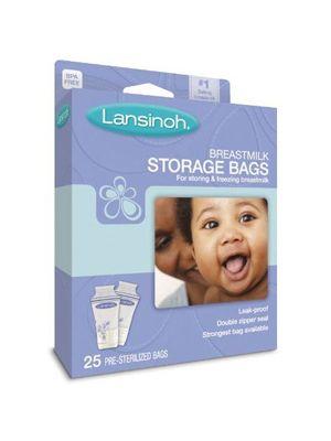 Lansinoh Breastmilk Storage Bag 25cts