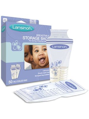 Lansinoh Breastmilk Storage Bag 50cts