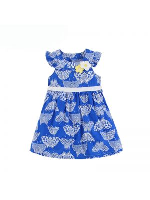 Mom And Bab Daisy Collection - Butterfly print Dress
