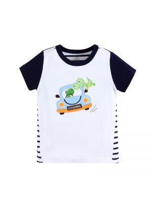 Mom and Bab Dino Collection - White Top